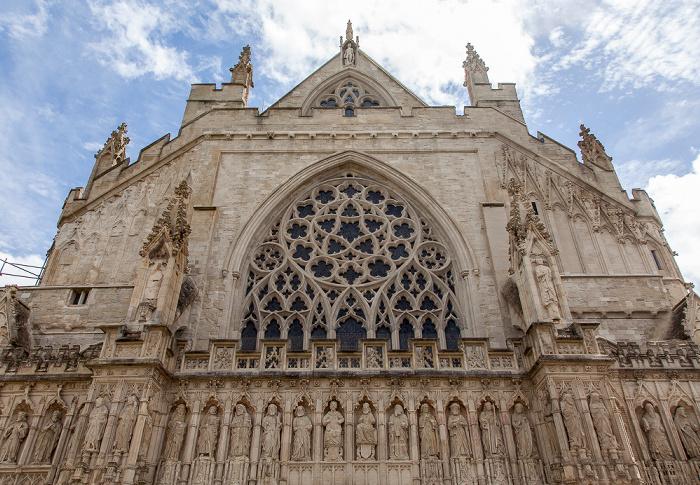 Exeter Cathedral: Westfassade