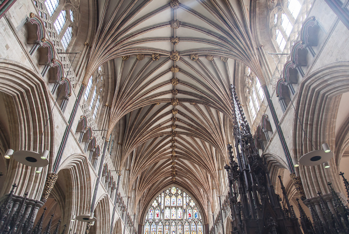 Exeter Cathedral: Langhaus (Mittelschiff)