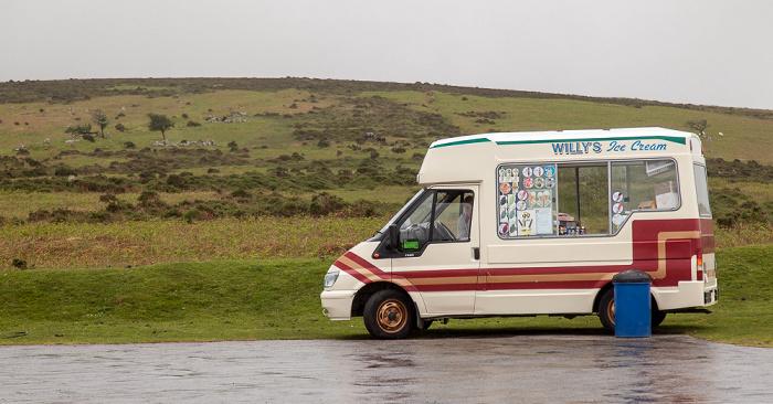 Dartmoor National Park Dartmoor: Eiswagen