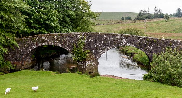 Dartmoor National Park Dartmoor: Two Bridges - The Old Bridge