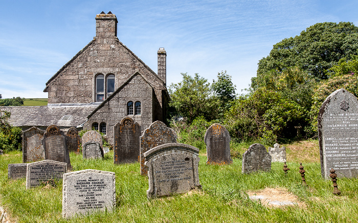 Widecombe-in-the-Moor Church of Saint Pancras (Cathedral of the Moors): Friedhof