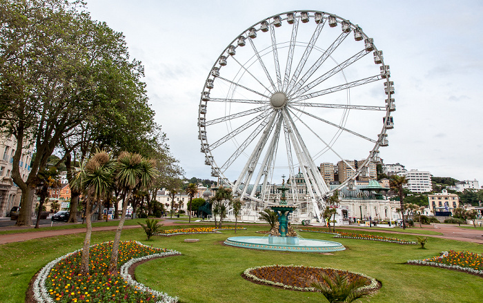 Torquay Princess Gardens, The English Riviera Wheel Torquay Pavilion