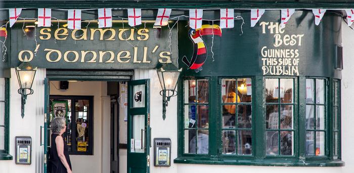 Torquay Victoria Parade: Seamus O'Donnell's