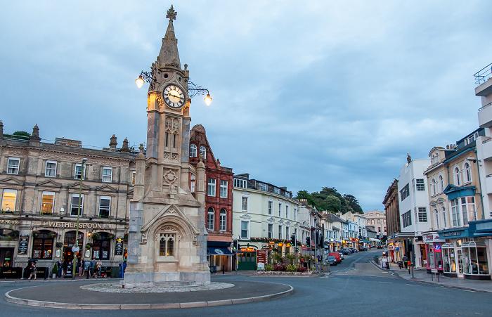 Torquay Clock Tower (Uhrturm) Torwood Street