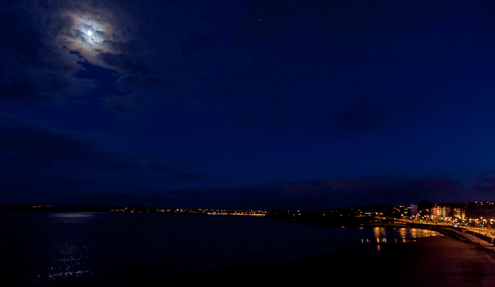 Torquay Torbay (Ärmelkanal, English Channel), Mond