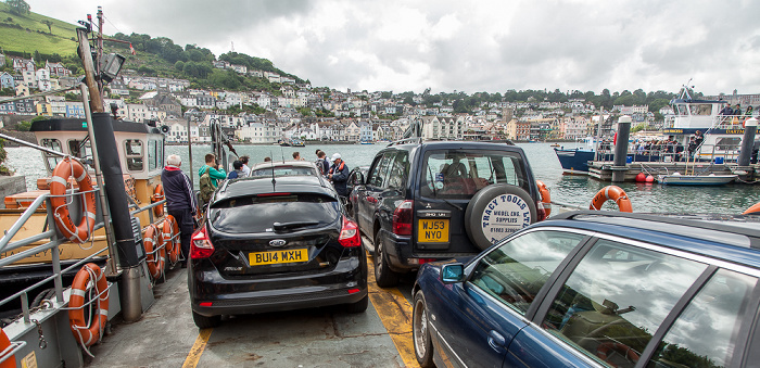 Kingswear Dartmouth Lower Ferry River Dart