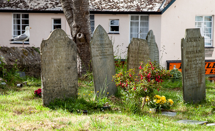 Dartmouth St Saviour's Church: Friedhof
