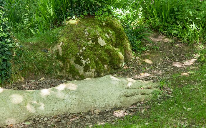 Mevagissey Lost Gardens of Heligan: Mud Maid