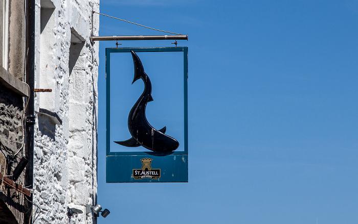 Mevagissey The Quay: The Sharksfin