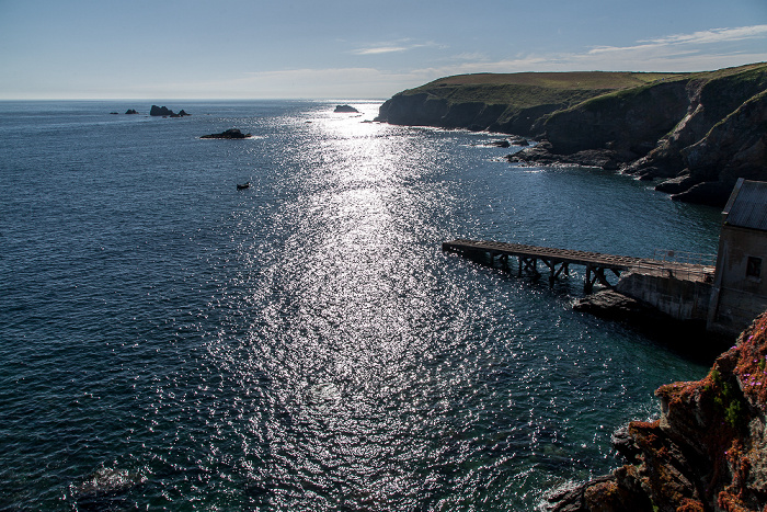 Lizard Polpeor Cove, Ärmelkanal (English Channel)