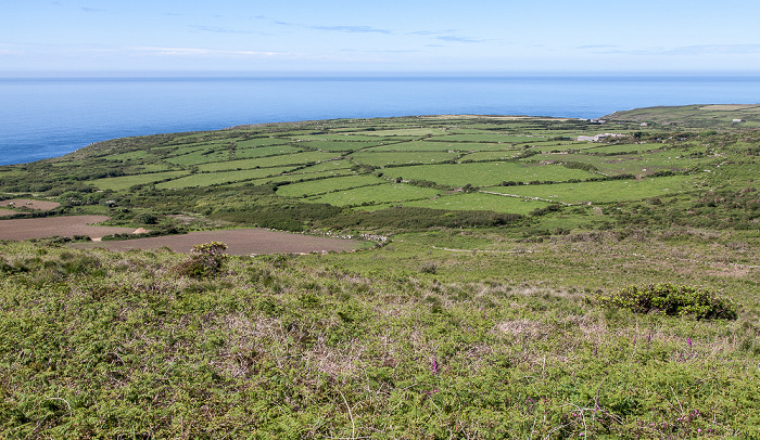 Cornwall Area of Outstanding Natural Beauty - zwischen Zennor und St Ives