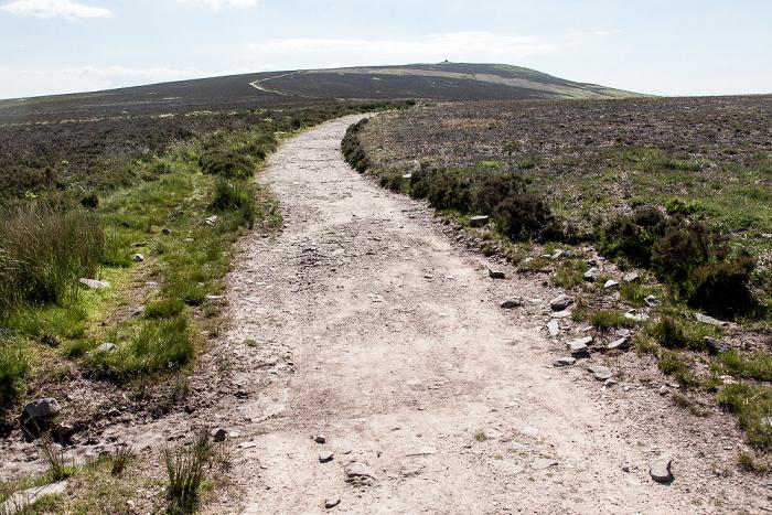 Exmoor National Park Dunkery Hill: Weg zum Dunkery Beacon