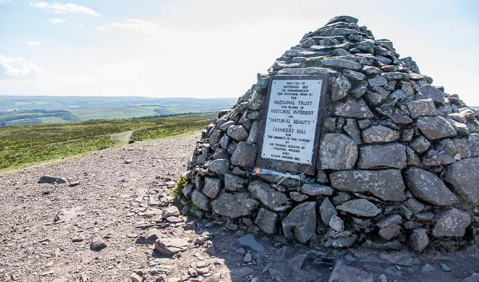 Exmoor National Park Dunkery Hill: Dunkery Beacon - Höchster Punkt des Exmoors