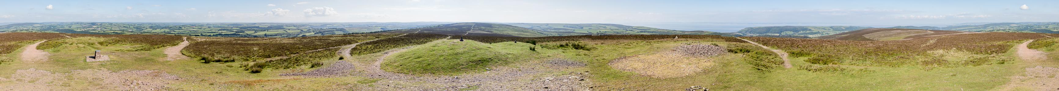 Exmoor National Park Dunkery Hill: Dunkery Beacon (520 m)