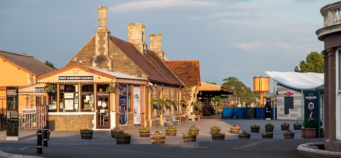Minehead Endbahnhof der West Somerset Railway