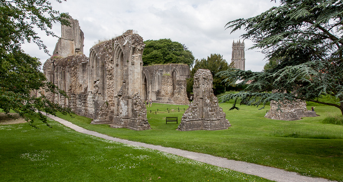 Glastonbury Abbey: The Great Church Church of St John the Baptist