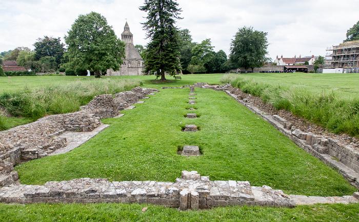 Glastonbury Abbey: Refektorium