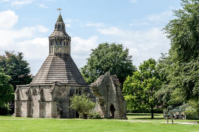 Glastonbury Abbey: Abbot's Kitchen
