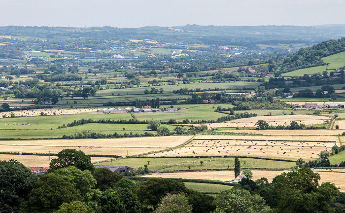 Blick vom Glastonbury Tor