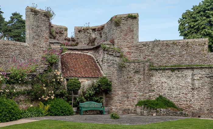 Wells Bishop's Palace Gardens