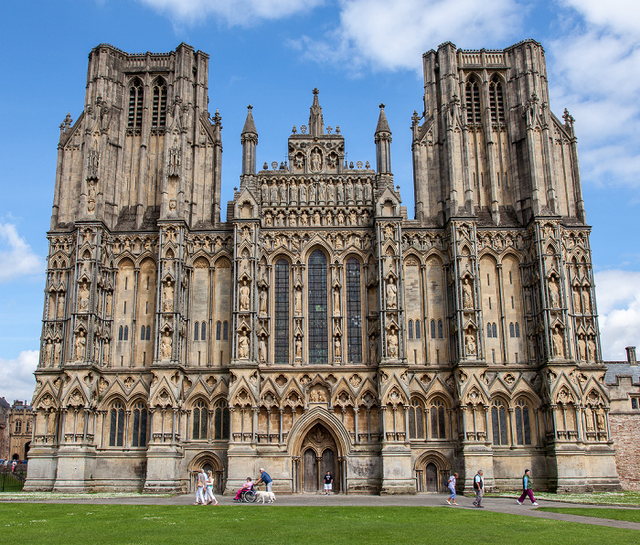 Wells Cathedral: Westfassade