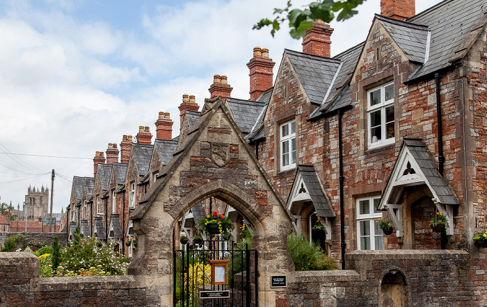 Priest Row: City of Wells Almshouses