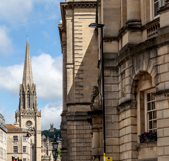Bath High Street, St Michael's Church Guildhall