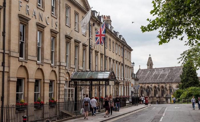 Bath Queen Square: Francis Hotel Holy Trinity Church