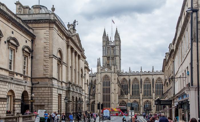 High Street, Bath Abbey Guildhall
