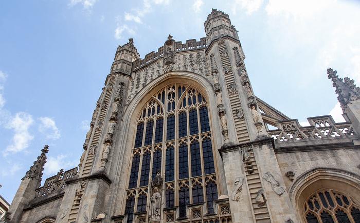 Bath Abbey: Westfassade