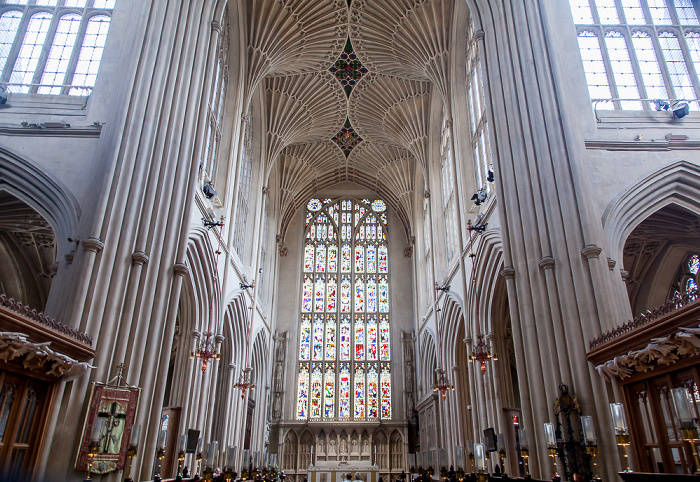 Bath Abbey: Hauptschiff