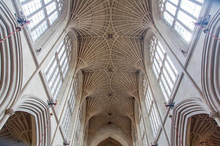 Bath Abbey: Hauptschiff / Gewölbe