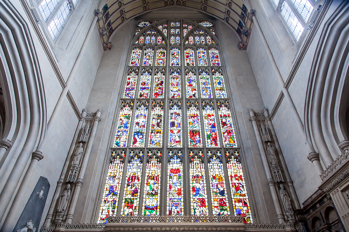 Bath Abbey: Querschiff