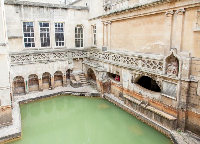 Roman Baths: Sacred Spring