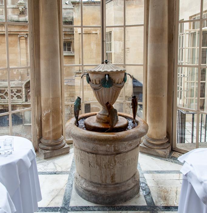 Roman Baths: Grand Pump Room