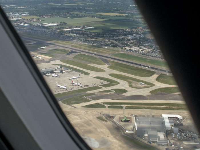 London Heathrow Airport Luftbild aerial photo