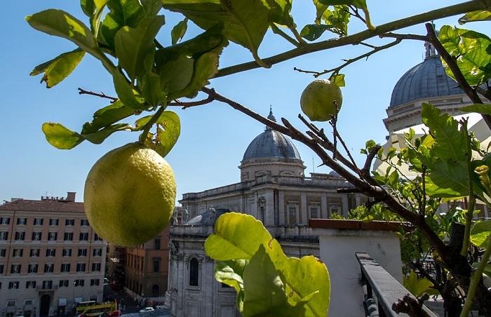 Rom Hotel Gallia: Dachterasse Basilica di Santa Maria Maggiore