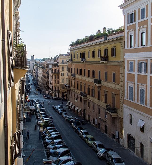 Rom Blick aus dem Hotel Gallia: Via di Santa Maria Maggiore