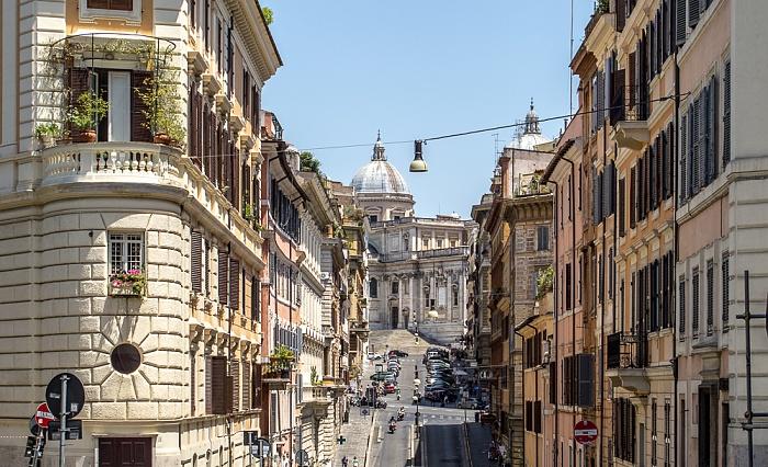 Rom Monti: Via di Santa Maria Maggiore Basilica di Santa Maria Maggiore