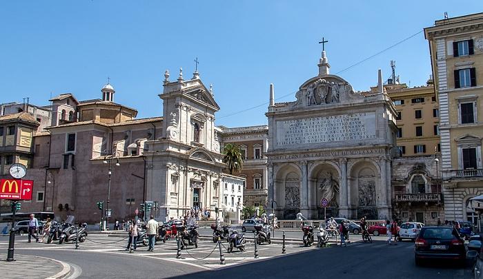 Sallustiano / Castro Pretorio: Piazza di San Bernardo Rom