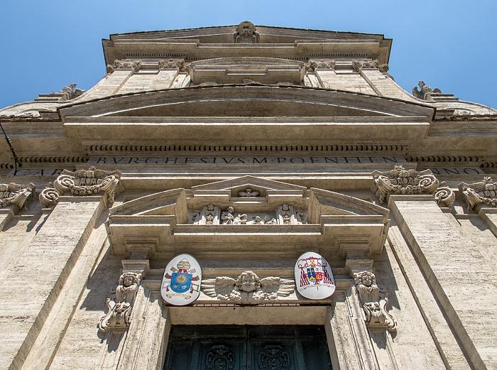Sallustiano: Chiesa di Santa Maria della Vittoria Rom