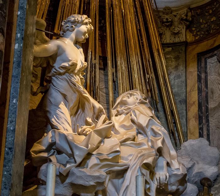 Chiesa di Santa Maria della Vittoria: Cornaro-Kapelle Rom