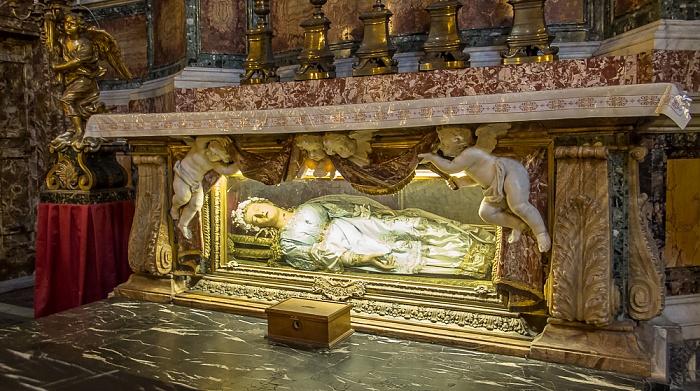 Chiesa di Santa Maria della Vittoria: Reliquien der römischen Märtyrerin Victoria Rom