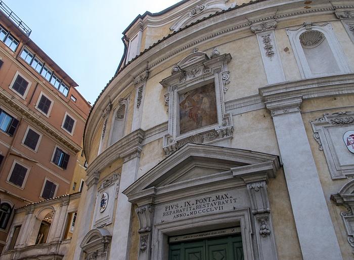 Castro Pretorio: Chiesa di San Bernardo alle Terme Rom