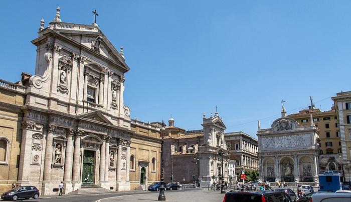 Trevi / Sallustiano / Castro Pretorio: Piazza di San Bernardo Rom