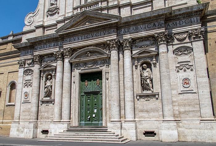 Trevi: Chiesa di Santa Susanna Rom