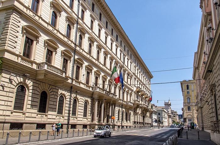 Trevi / Castro Pretorio: Via Venti Settembre Rom