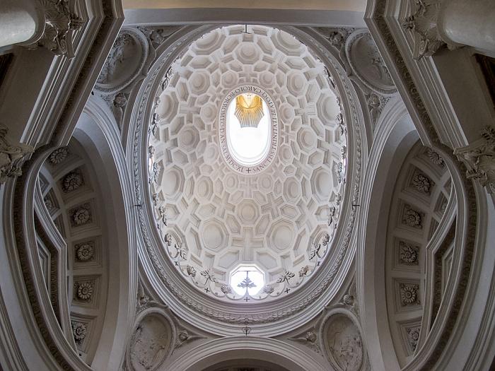 Rom Chiesa di San Carlo alle Quattro Fontane