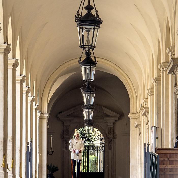 Palazzo del Quirinale (Quirinalspalast) Rom