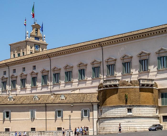 Trevi: Palazzo del Quirinale (Quirinalspalast) Rom